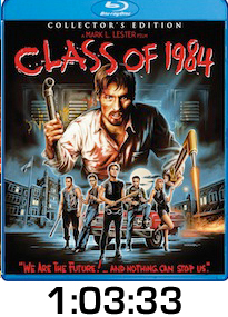 Class of 1984 Bluray Review