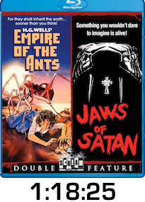 Empire of the Ants Jaws of Satan Bluray Review