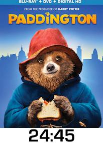 Paddington Bluray Review