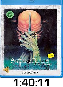 Satan's Blade Bluray Review