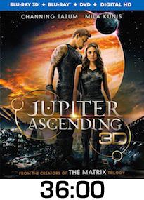Jupiter Ascending Bluray Review