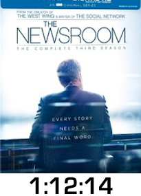 Newsroom Season 3 Bluray Review
