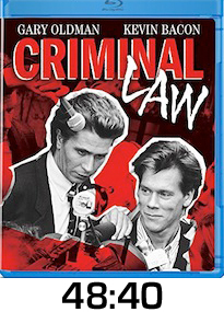 Criminal Law Bluray Review