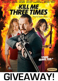 Kill Me Three Times Giveaway Image