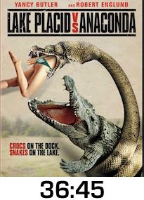 Lake Placid vs Anaconda DVD Review
