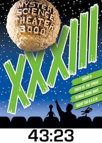 MST3K XXXIII DVD Review