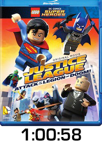 Lego Justice League Bluray Review