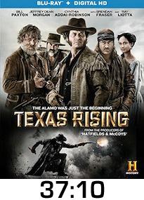 Texas Rising Bluray Review