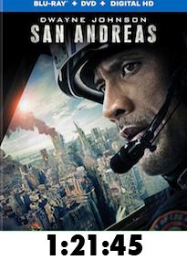 San Andreas Bluray Review
