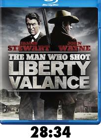 Man Who Shot Liberty Valance Bluray Review