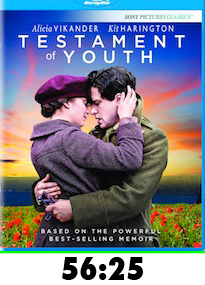 Testament of Youth Bluray Review