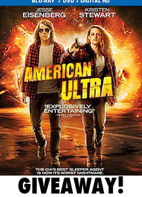 American Ultra Bluray Giveaway Image