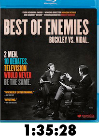 Best of Enemies Bluray Review