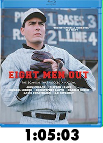 Eight Men Out Bluray Review