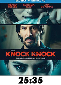 Knock Knock Bluray Review