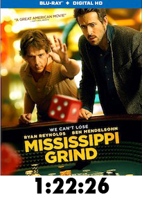 Mississippi Grind Bluray Review