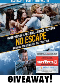 No Escape Giveaway Image