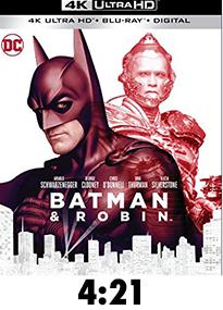 Batman and Robin 4k Review