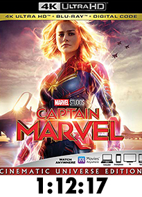 Captain Marvel 4k Review