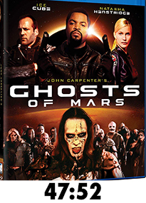 Ghosts of Mars Blu-Ray Review