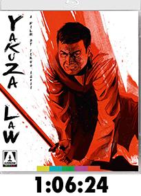 Yakuza Law Blu-Ray Review