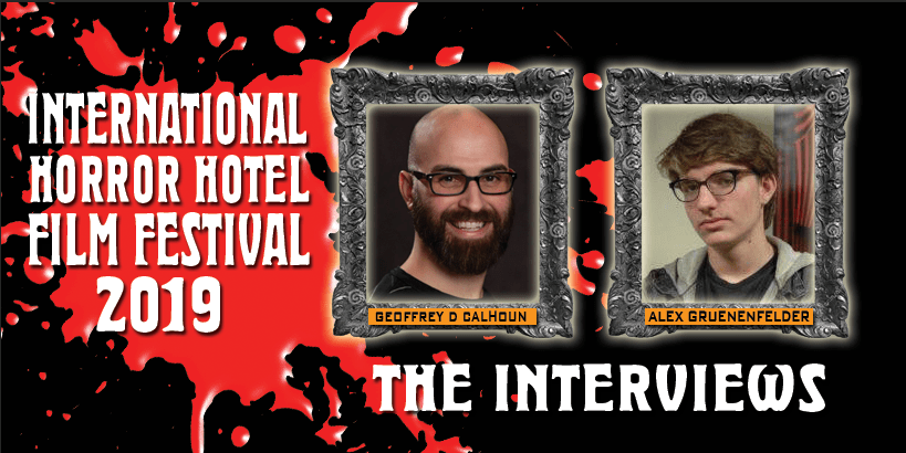 Interviews at the International Horror Hotel Film Festival 2019