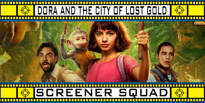 Dora and the City of Lost Gold Movie Review