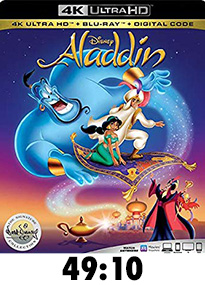 Aladdin Animated 4k Review