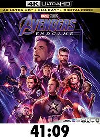 Avengers: Endgame 4k Review