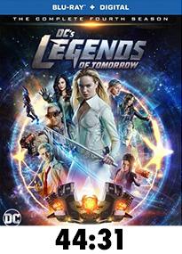 Legends of Tomorrow Season 4 Blu-Ray Review
