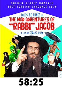 The Mad Adventures of Rabbi Jacob Blu-Ray Review