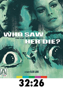 Who Saw Her Die? Blu-Ray Review