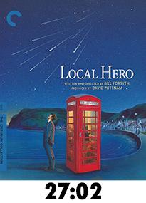 Local Hero Blu-Ray Review
