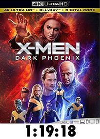 X-Men: Dark Phoenix 4k Review