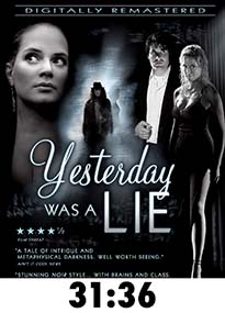 Yesterday Was A Lie Blu-Ray Review
