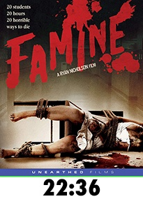 Famine Blu-Ray Review