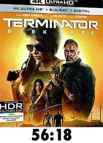 Terminator: Dark Fate 4k Review