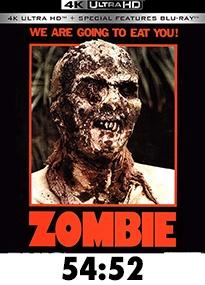 Zombie 4k Blue Underground Blu-Ray Review