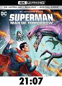 Superman: Man of Tomorrow 4k Review