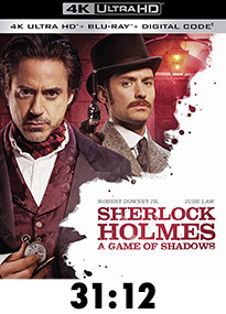 Sherlock Holmes: A Game of Shadows 4k Review