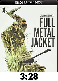 Full Metal Jacket 4k Review