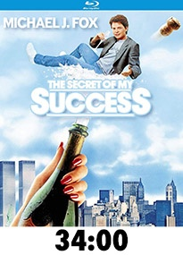 The Secret of My Success Blu-Ray Review