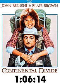 Continental Divide Blu-Ray Review