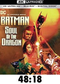 Batman: Soul of the Dragon 4k Review