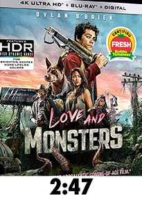 Love and Monsters 4k Review