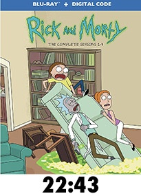 Rick and Morty S1-4 Blu-Ray review