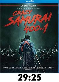 Crazy Samurai 400 vs 1 Blu-Ray Review