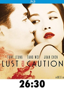 Lust Caution Blu-Ray Review
