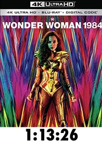 Wonder Woman 1984 4k Review
