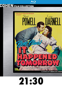 It Happened Tomorrow Blu-Ray Review